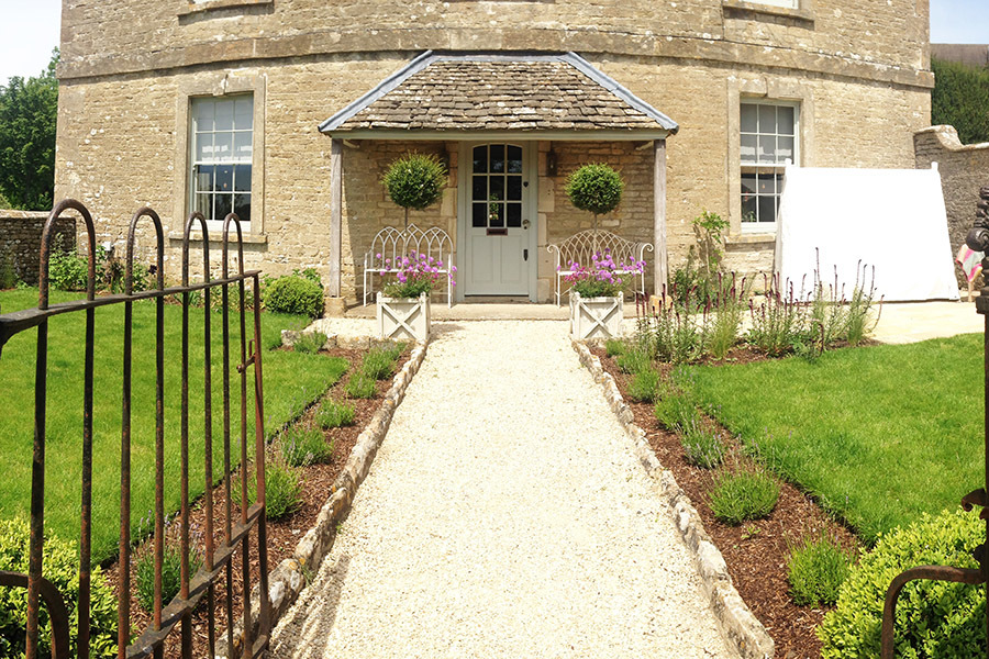 Landscape Edwardian Country House Formal Garden